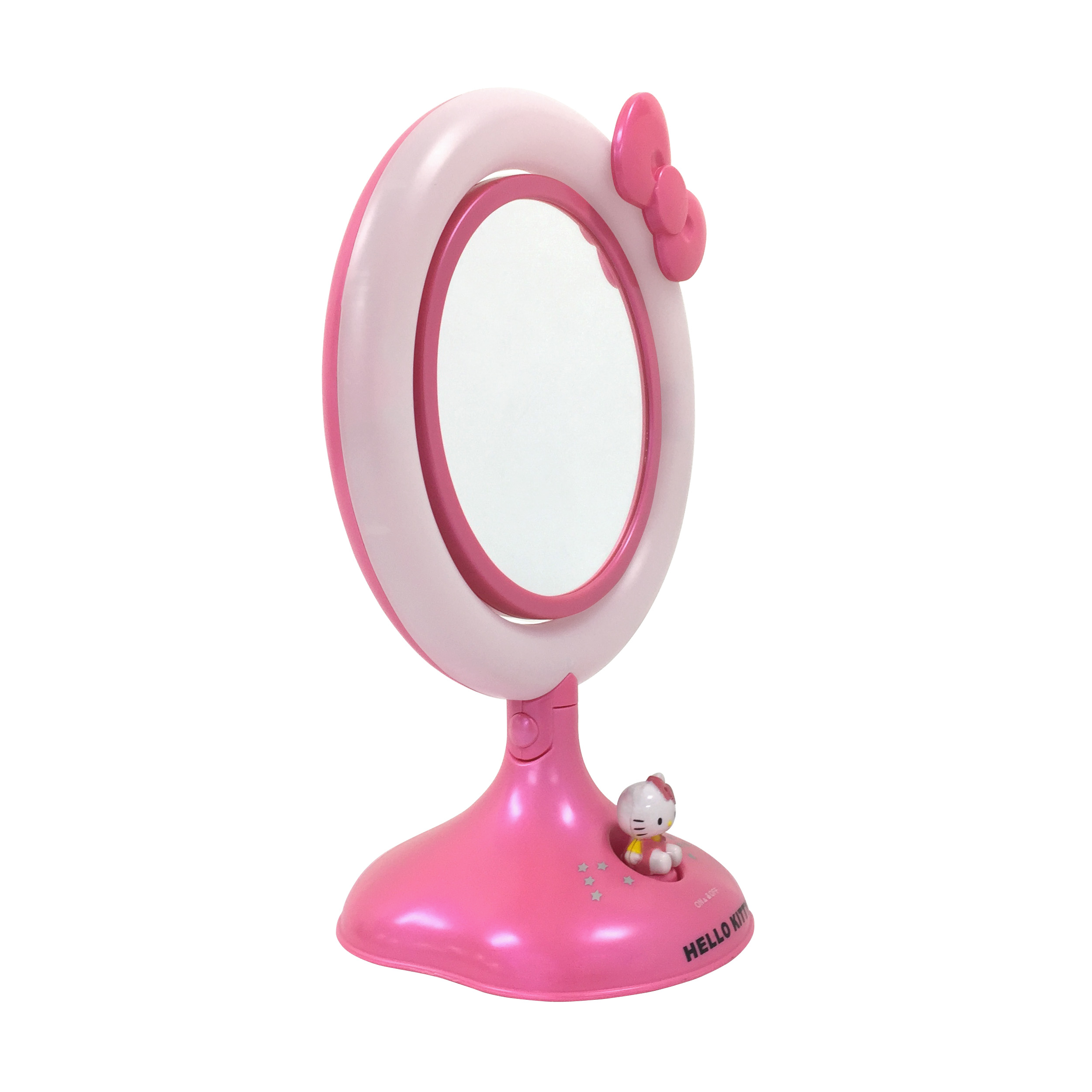 Hello Kitty Vanity Lighted Real Glass Reversible Makeup